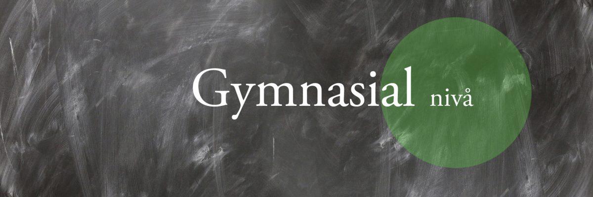 gymnasial